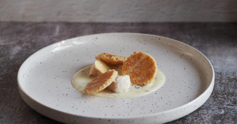 KERST – Biscuitdeeg met reblochon en kummelroom (Kaas)