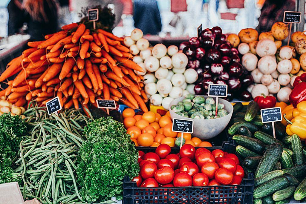 Een markt waar je zelf je producten mag uitzoeken en bekijken: je bestrijdt blue monday met een ritueel.