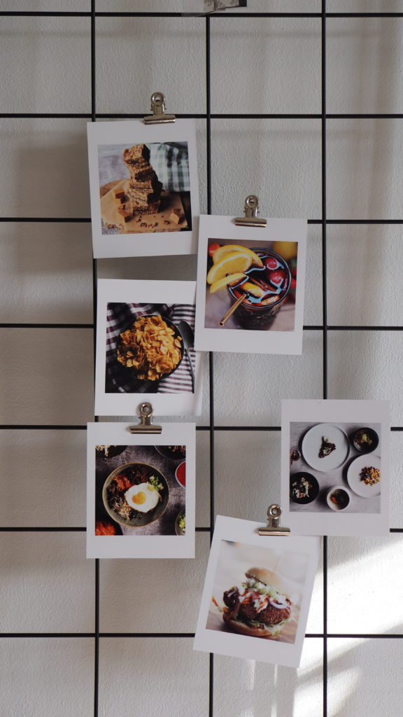 foto's van fotofabriek op een raster