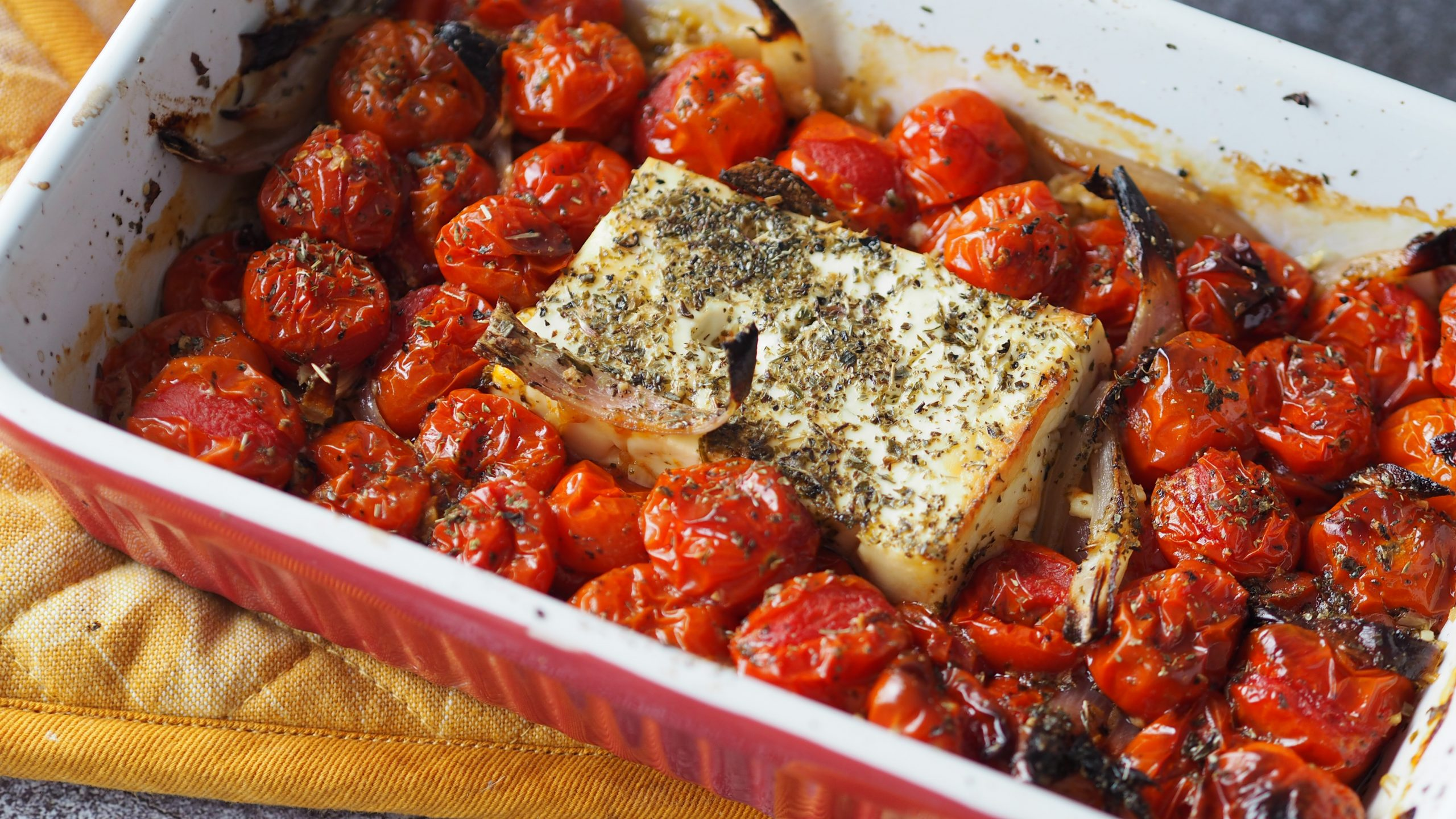 Week zonder vlees – Getest: TikTok Uunifetapasta (feta pasta)