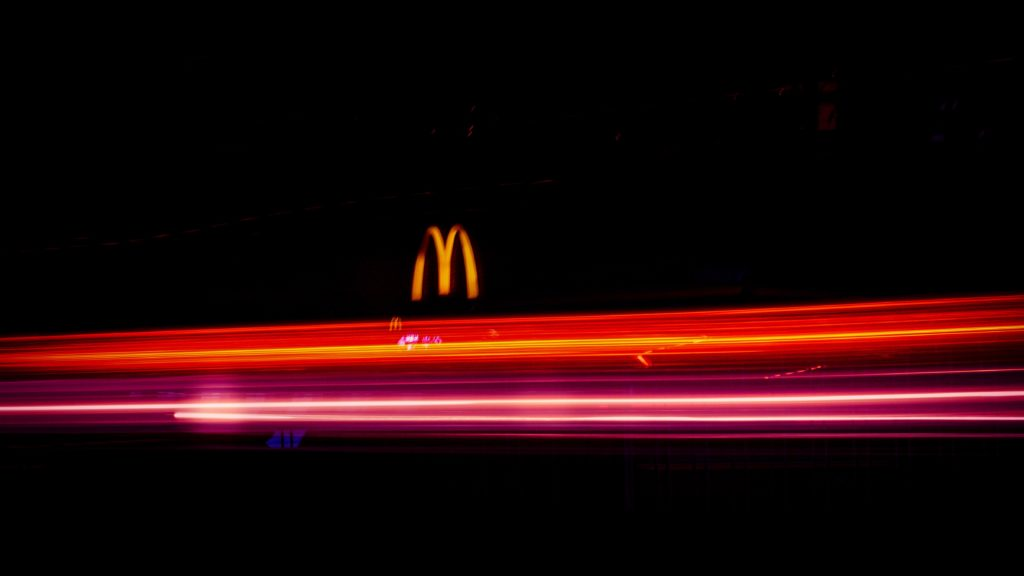 McDonald's by night